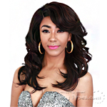 Zury Sis Synthetic Hair Swiss Lace Pre Tweezed Part Wig - SW LACE H FERRY