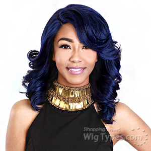 Zury Sis Synthetic Hair Swiss Lace Pre Tweezed Part Wig - SW LACE H LU